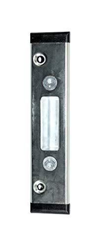 GU Secury Haustür U-Stulp Schließblech/Schließplatte Profil Veka Softline 135x30x6mm mit verstellbarer Schließtasche