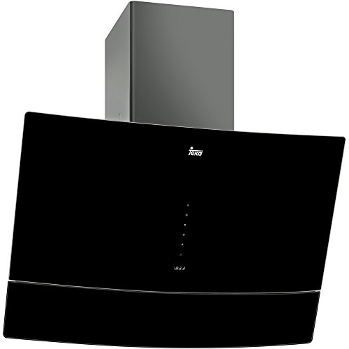 Teka DVU 590 B De pared Negro 538m³/h D - Campana (538 m³/h, Canalizado, D, A, D, 59 dB)