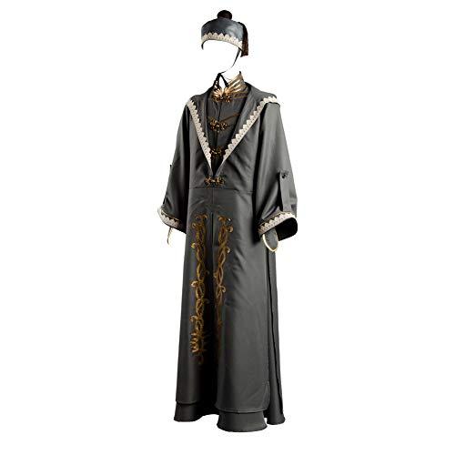 Linen Family Albus Dumbledore Suit Cosplay Kostüm Herren Film Fanartikel Outfit Set Zaubererhut Karneval Verkleidung Fasching Halloween