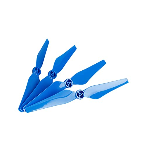 SYFANG Eliche per Drone Fit for DJI Phantom 4 PRO 4A con Puntelli Base di Montaggio Accessori per Pezzi di Ricambio 8 Pezzi 9450S Puntelli Lame per Drone a sgancio rapido(Color:Blue)