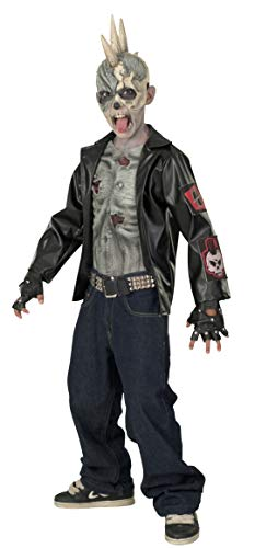 Rubie's Punk Zombie Child Costume, Medium