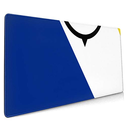 Extend Moursepad Flag of Bonaire 40 X 90 CM Mousepad Mat Smooth Surface for Computer and Office Desk