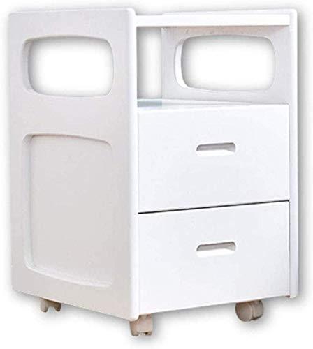 HTL Mesita de Noche Útil Mesita de Noche Mini Gabinete de Alenamiento de Dormitorio Muebles Prácticos Mesa Auxiliar