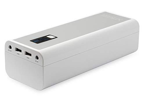 XTPower® MP-50000 Powerbank - mobiler externer hochleistungs USB und DC Akku mit 52800mAh - 2 USB bis 2.1/1A und DC 9V/12V/16V/19V/20V max. 4A