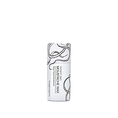 The Brighton Beard Co. Jevington Jiggs's Ylang Ylang & Sandalwood, Firm Moustache Wax, Handmade & Reworkable Wax Stick 15g