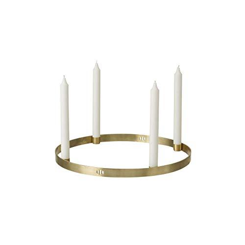 Ferm Living Kerzenhalter, Messing, Brass, 2,2x25x25