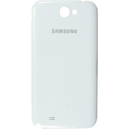 Original Samsung Akkudeckel für das Samsung N7100 Galaxy Note II - ceramic-white / weiß (Akkufachdeckel, Batterieabdeckung, Rückseite, Back-Cover) - GH98-24445A