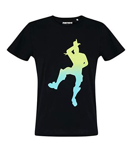 Fortnite Fortnite Herren T-Shirt (M, Schwarz)