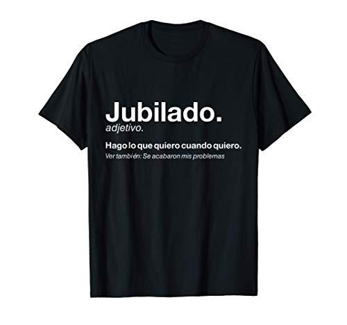 Hombre Regalo Original Jubilación Hombre Jubilado Definición Camiseta