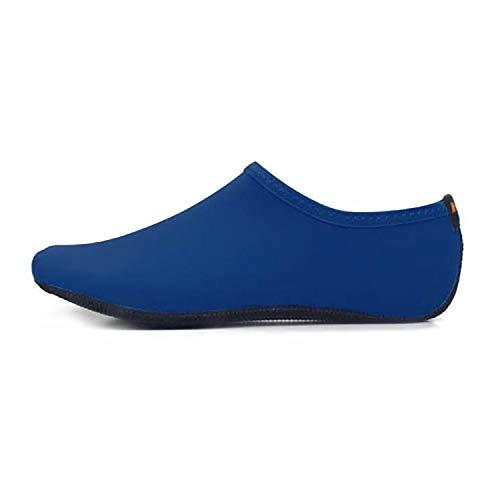 PingGongHuaKeJiYouXianGongSi - Zapatos de buceo y calcetines para deportes acuáticos al aire libre antideslizante con textura de grano de plástico grueso, suela de tela gruesa, color sólido