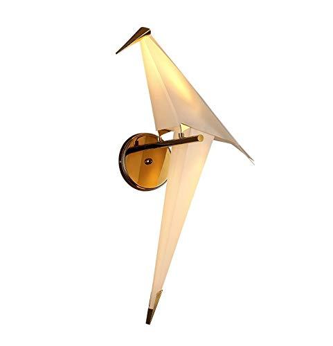 Nordic Mille groen van papier hanglamp modern minimalistisch vogel wandlamp eenpersoonsbed woonkamer tempa restaurant vrije tijd bar persoonlijkheid slaapkamer slaapkamer bedlampje