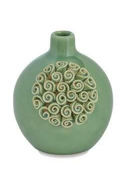 Mud Pie Coral Crackle Vase (Large)