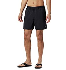 DURABLE SPORTING SHORTS FOR MEN: The Columbia Men's Backcast III Water Short is an easy-fitting pair of men's water shorts that are flexible, made from high-quality materials, and offer UV protection. 100% TEXTURED NYLON POPLIN: For enhanced comfort,...