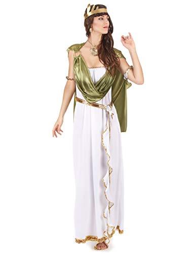 Atosa-38986 Disfraz Romana, Color Verde, XL (38986)