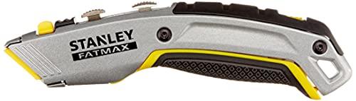 Stanley 0-10-789 Cuchillo retráctil 2 en 1 con 4 Hojas