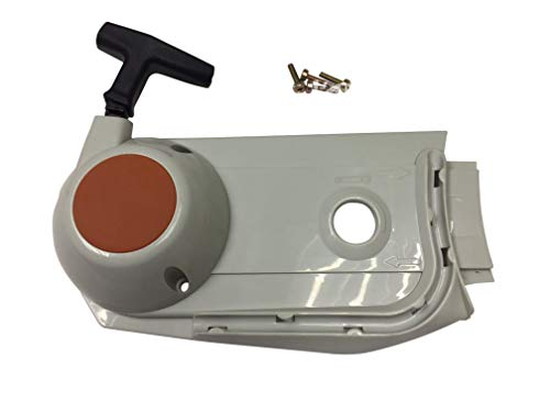ENGINERUN Recoil Rewind Pull Start Starter Assembly Compatible with Stihl TS700 Cut-Off saws OEM 42241900306 TS 700 4224-190-0306