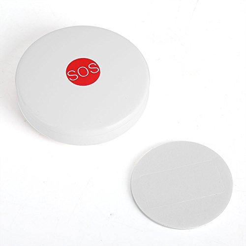 Zerodis-draadloze paniekalarmknop, SOS, alarmsysteem voor noodgevallen, draadloos, voor veiligheid op kantoor en thuis