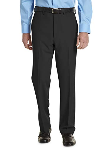 Gold Series by DXL Big and Tall Continuous Comfort Performance Plus Flat-Front Pants