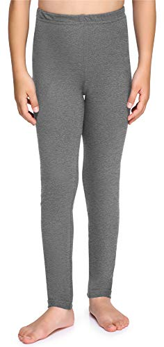 Merry Style Leggins Mallas Pantalones Largos Ropa Deportiva Niña MS10-225 (Melange Medio,122)