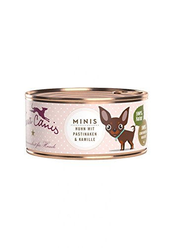 Terra Canis Mini 100g Huhn getreidefreies Hundefutter Größe 12 x 100g