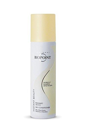 Biopoint Instant Beauty Balsamo Secco 150 ml - Senza risciacquo, Esalta la Brillantezza dei Capelli Donando Extra-Morbidezza ed Eliminando l'Effetto Crespo