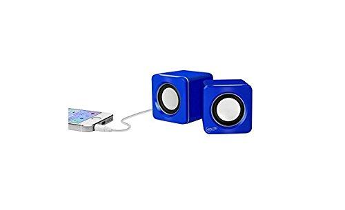 ARCTIC S111 M - Mobiles Mini-Soundsystem, Mini Speaker mit überzeugender Klangqualität für Smartphone, Tablet oder Laptop, bis zu 12h Akkulaufzeit, kraftvolle Bässe und kompaktes Design - Blau