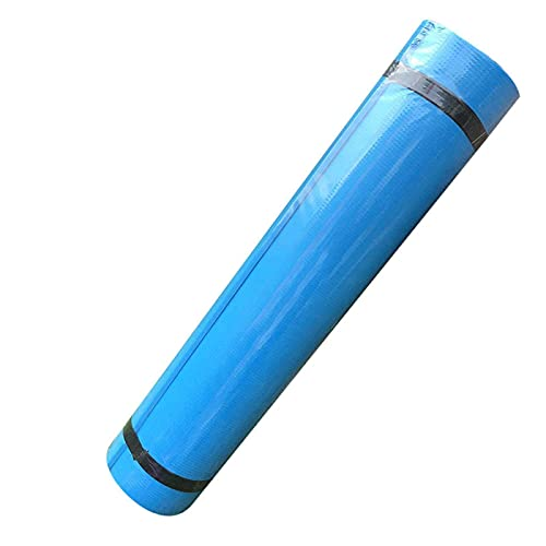 LIXSLT Esterilla de yoga EVA antideslizante de 4 mm para fitness, yoga, gimnasio, gimnasio, gimnasio, gimnasio, gimnasio, pilates, gimnasio, gimnasio, gimnasio, fitness, esterilla (color: azul cielo)