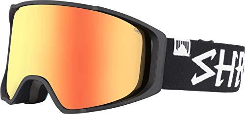 Shred Goggle Simplify Blackout Bonus Schneebrille Ski, Snowboard, Black, one Size