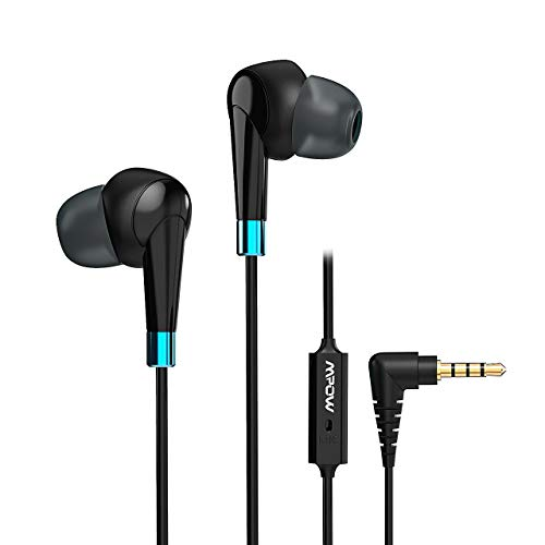 Mpow Auriculares con Cable WH7, Auriculares estéreo en la O