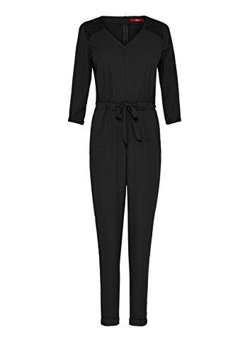 s.Oliver Damen Jumpsuit, Schwarz (Black) - 4