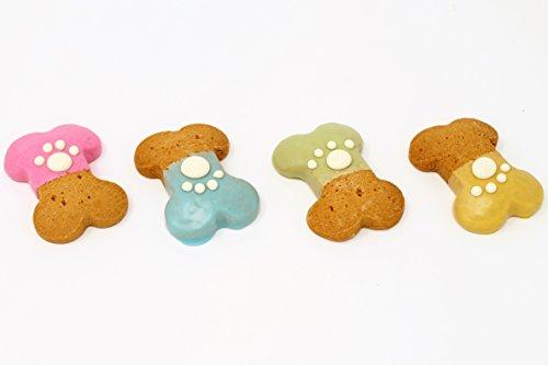 Claudia's Canine Bakery - Party Bones with Paw Print - 24 Gourmet Dog Treats