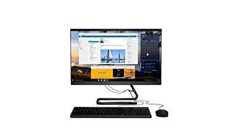 'Lenovo IdeaCentre AIO 3 All in One 24IMB05, Display 23.8'' Full HD, Processore Intel Core i3-10100T, 256GB SSD, 8GB RAM, Tastiera e Mouse USB, DVD±RW, Windows 10, Black'