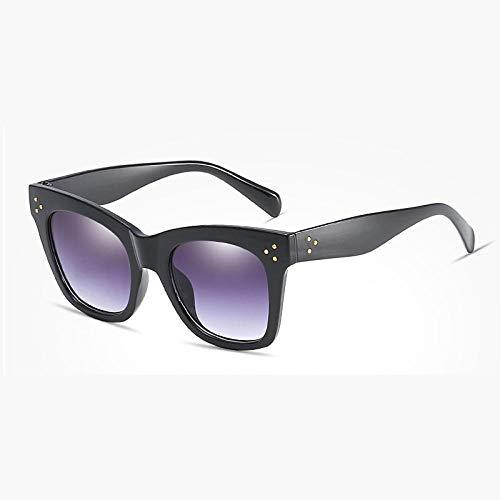Gafas De Sol Hombre Mujeres Ciclismo Gafas De Sol Cuadradas Transparentes Negras para Mujer Gafas De Sol Clásicas con Gradiente Gafas De Sol para Mujer-Cj9768_C1