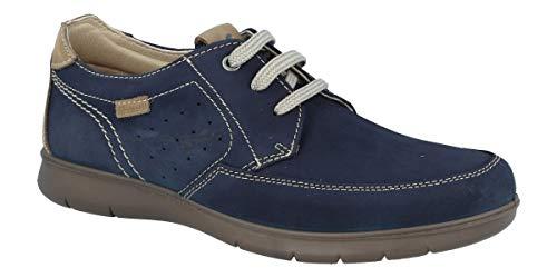 Zapato con Cordones, Ligero, Flexible y Muy Fresco. LUISETTI Zapato Grava 27952GS Talla 40 Color Marino