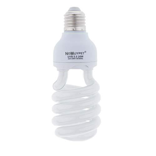 MagiDeal Reptile Habitat 5.0 UVB Basking Spot Light Spotlight Bulbs para Reptiles