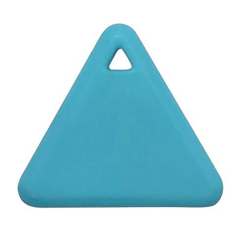 ZW Waterdichte Bluetooth Tracer, Driehoek Keys Portemonnee Tas Kids Trackers Finder Apparatuur Huisdieren Smart Mini GPS Tracker
