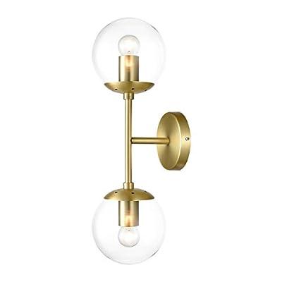 Light Society Tesler 2 Light Globe Wall Sconce Variation