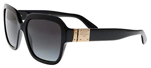 Dolce & Gabbana 0DG4336 Gafas de sol, Black, 56 para Mujer