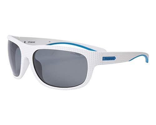 Polaroid Sonnenbrillen (PLD-7022-S VK6M9) weiß - türkis - brau-grün polarisierte