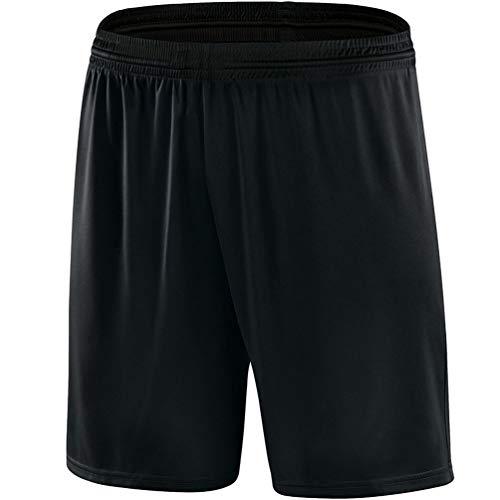 JAKO Kinder Shorts Sporthose Palermo, Schwarz, 2, 4409