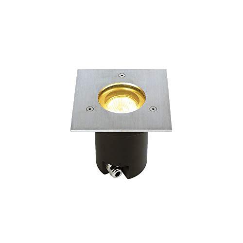 SLV Bodeneinbauleuchte Reflektor für SUPROS / Spot für Terrasse, Outdoor-Strahler, Einbau-Lampe Garten, Bodenlampe für Außen / GU10 IP67 35.0W