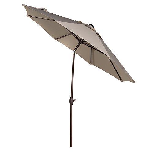 Abba Patio 11ft Patio Umbrella Outdoor Umbrella Patio Market Table Umbrella with Push Button Tilt...
