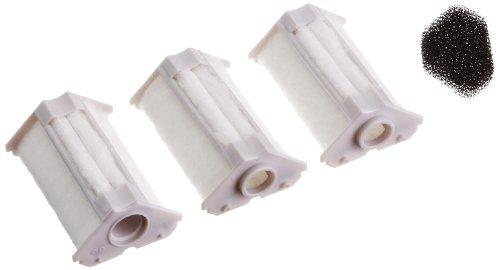 Dennerle 5865 Ersatzkartusche für Nano-Eckfilter, 3er Pack - 3x Filterelement inkl. 1 Filterschwamm