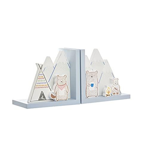 Sujetalibros para niños de campamento de Mountain Bear.