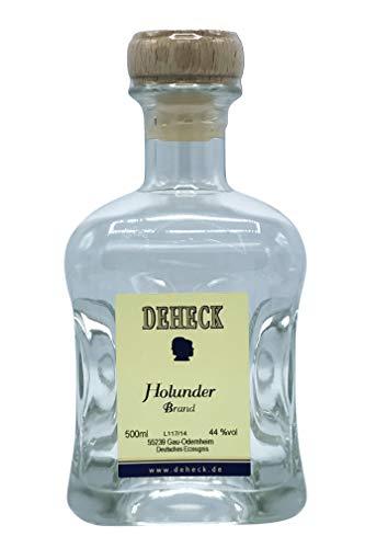 Deheck Holunderbrand 0,5l - klarer Obstbrand