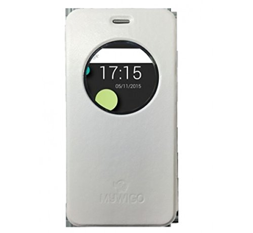 "MYWIGO MWG CO549W Funda para teléfono móvil 12,7 cm (5"") Folio Gris - Fundas para teléfonos móviles (Folio, Magnum 2 / Magnum 2 Pro, 12,7 cm (5""), Gris)"