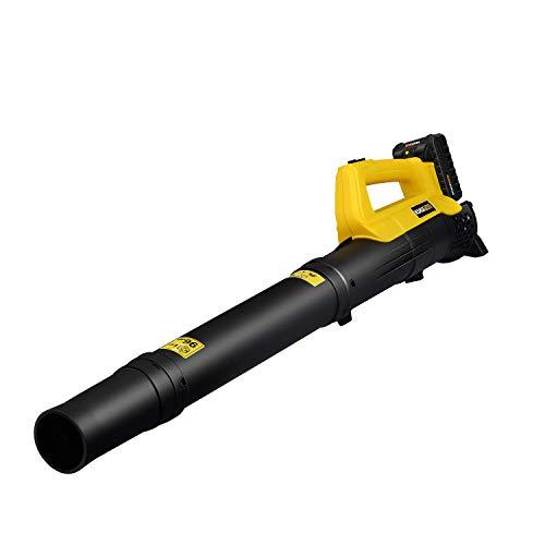 kukumax Soffiatore Assiale Elettrico a Batteria,20 V,2Ah, Potenza Soffio 130 km/h, Batteria e caricabatteria Inclusi