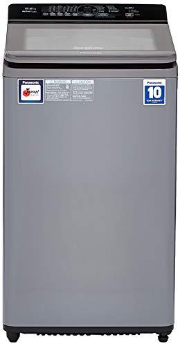Panasonic 6.2kg Fully-Automatic Top Loading Washing Machine (NA-F62A7CRB, Inox Black, Advanced Active Foam System)