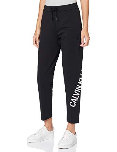 Calvin Klein Jeans Damen Stretch Innovation Jogg Pant Hose, Ck Schwarz, XL