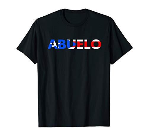 Abuelo TShirt Puerto Rico Flag T-Shirt